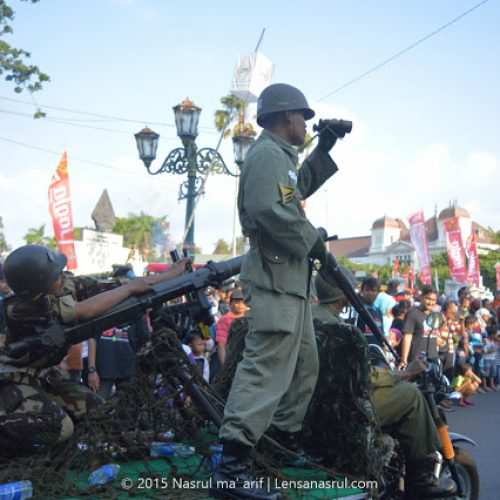 Kemeriahan Karnaval Festival Museum 2015, Pembukaan Festival Museum Jogja