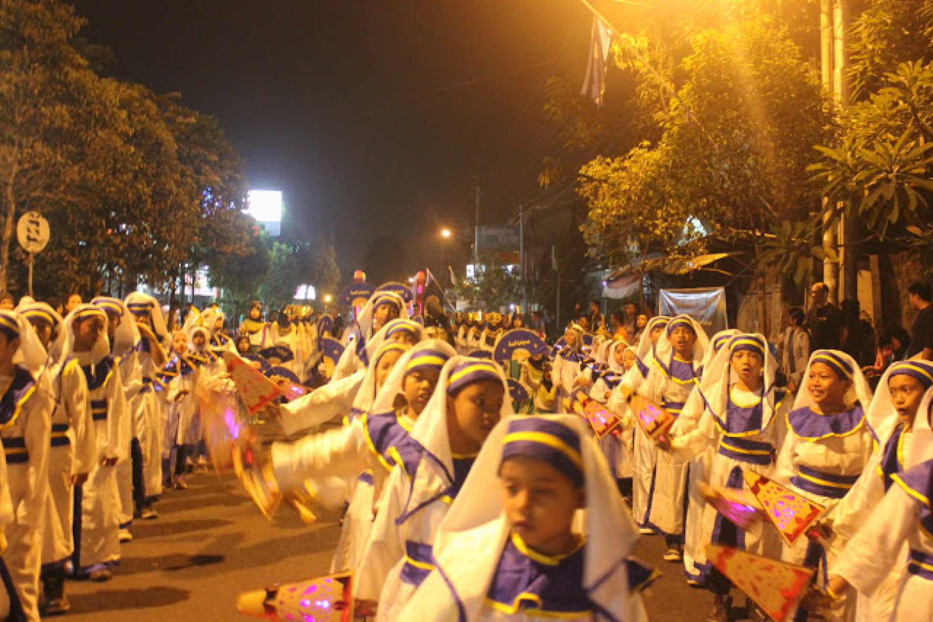 Meriahnya Festival Takbir Keliling Idul Fitri Mergangsan 1436 H / 2015
