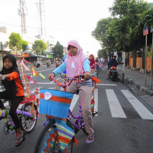 Sepeda Santri #6 Masjid Al-Amin 1436 H/2015