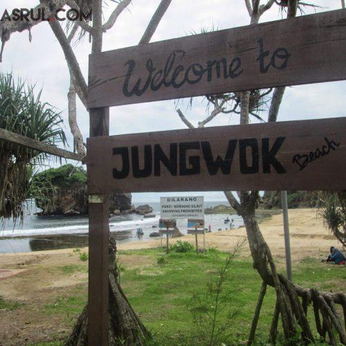 Semangat Menuju Pantai Jungwok