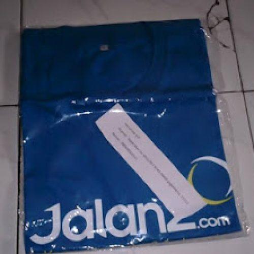 Tshirt Jalan2.com, Lumayan Buat Traveling