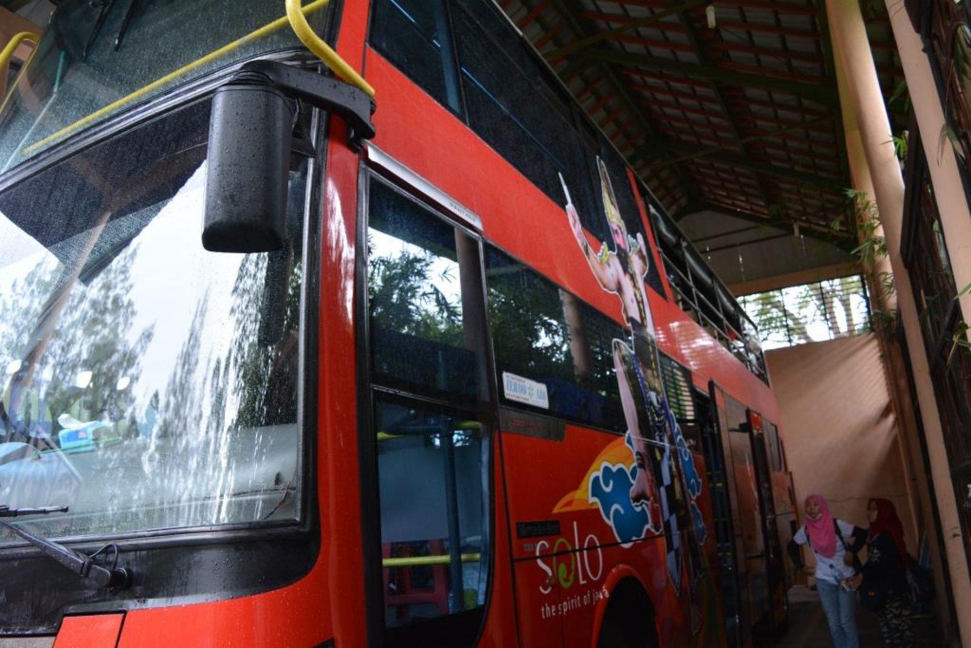 Mengintip Bus Werkudara, Bus Wisata Keren Kota Solo