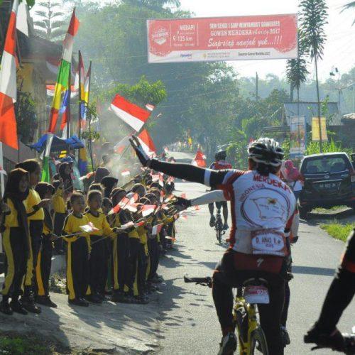 GOWES MERDEKA 2017, Semangat Bersepeda Dalam Kemerdekaan Indonesia
