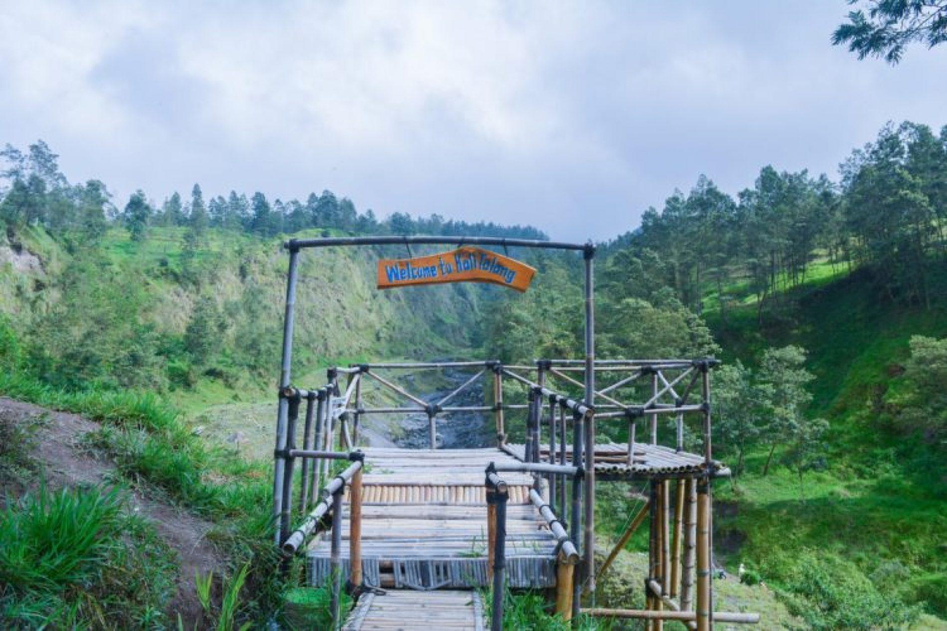 Keindahan Kali Talang Wisata Geopark Lereng Merapi