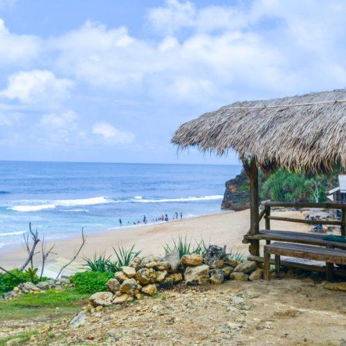 Wow Banget, Pantai Seruni Gunungkidul Serasa Milik Sendiri