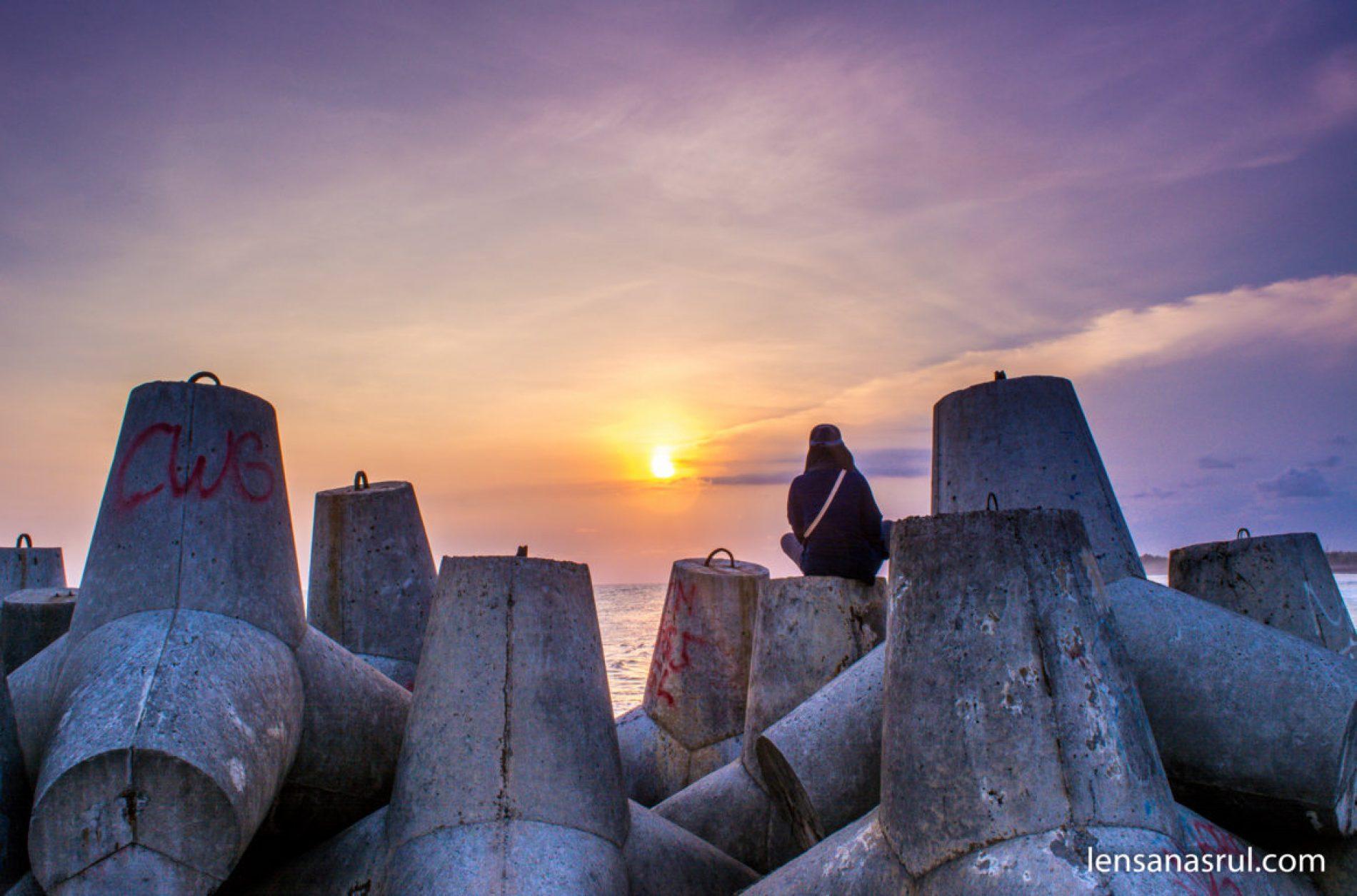 Pantai Glagah Kulonprogo, Destinasi Keluarga dan Panorama Sunset