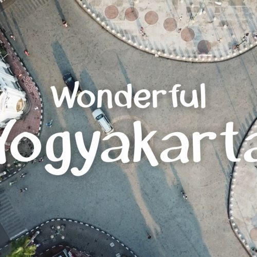 Video Drone Rekam Keindahan Yogyakarta Dari Langit