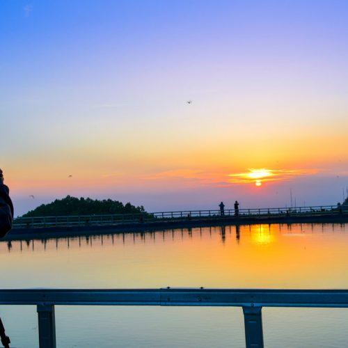 Memanjakan Mata, Melihat Sunset di Embung Nglanggeran