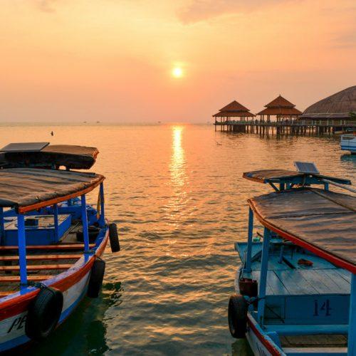Keindahan Senja Pantai Kartini Jepara Membuat Saya Lupa Untuk Pulang