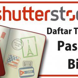 Legal, Begini Cara Daftar Shutterstock Tanpa Paspor