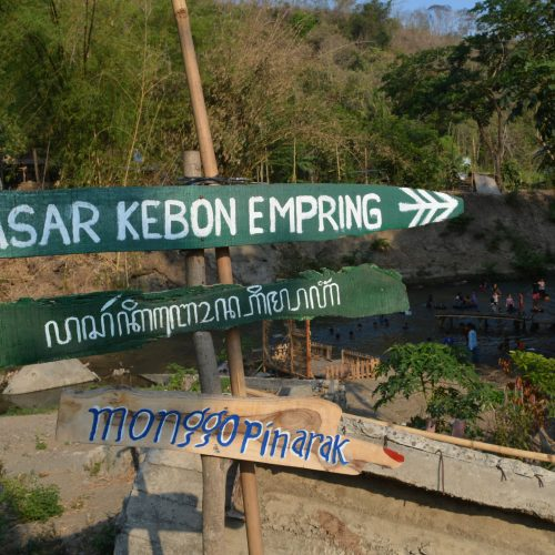 Pasar Kebon Empring, Wisata Pedesaan dan Kuliner Tradisional