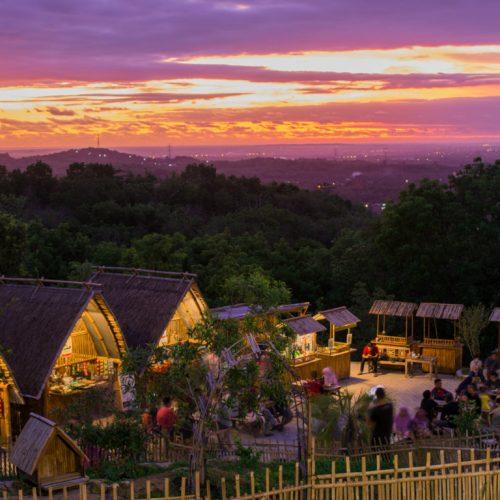 Puncak Sosok Bawuran, Lokasi Baru Menikmati Sunset Jogja